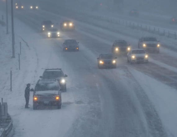 Dangerous blizzard cover U.S. with power outages