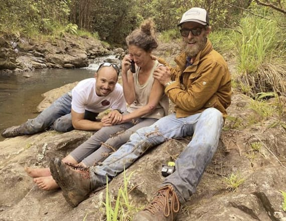 Woman rescued from forest told self not to give up