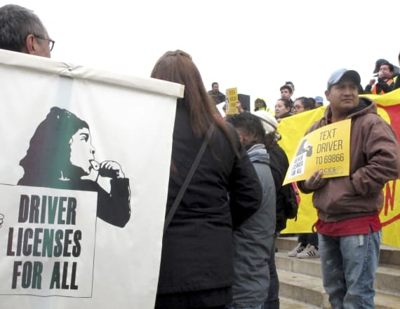 State may soon OK licenses for illegal immigrants