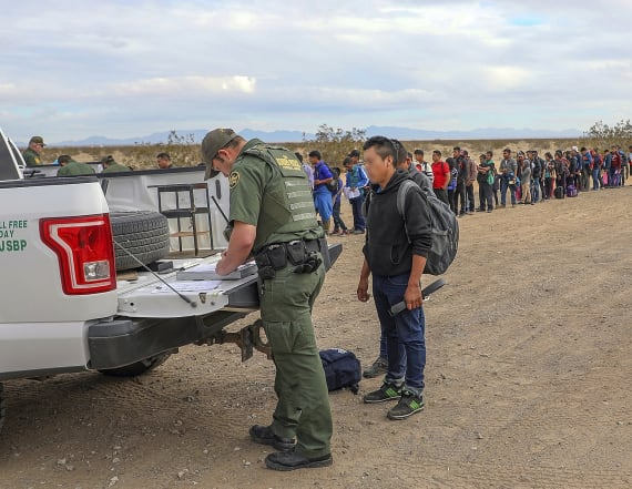 Border Patrol arrests 376 who dug under barrier