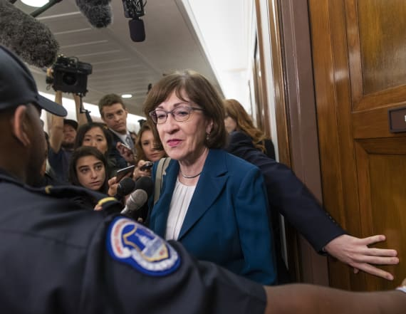 Suspicious letter mailed to home of GOP Sen. Collins