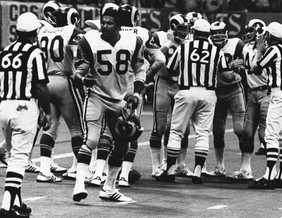 Former All-Pro LB Isiah Robertson dies in limo crash