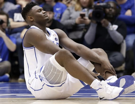 Zion Williamson's shoe mishap is trouble for Nike