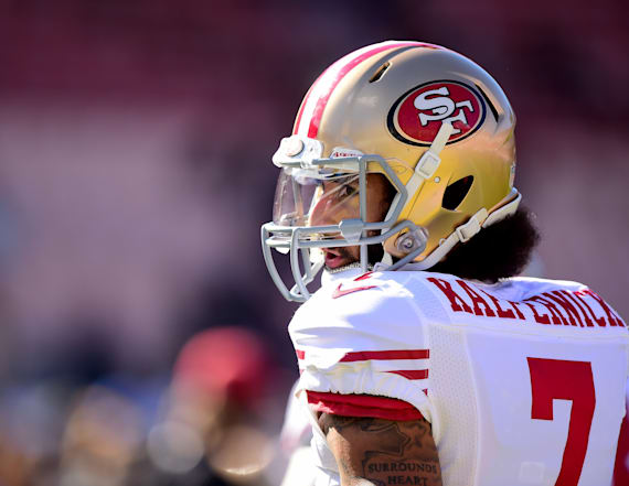 Kaepernick still led the 49ers in merchandise sales