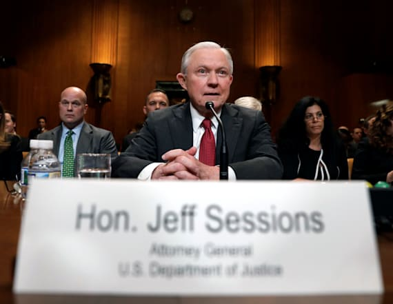 Sessions tiptoes around one topic at hearing