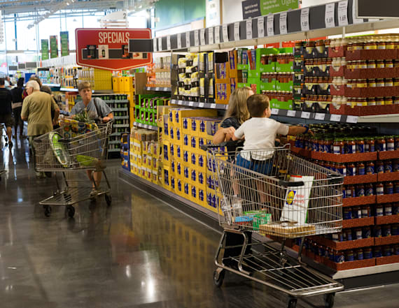 Many grocery stores are embracing an extra fee
