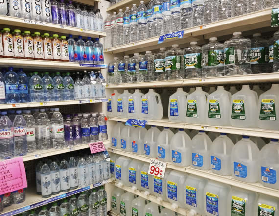 Popular bottled water accused of being groundwater