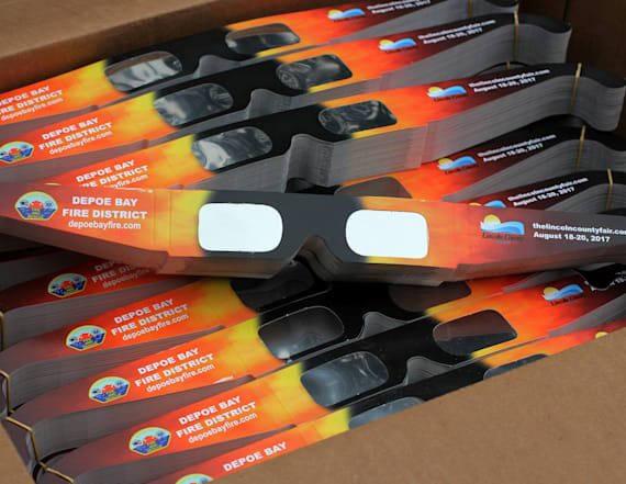 Price of eclipse glasses skyrocketing