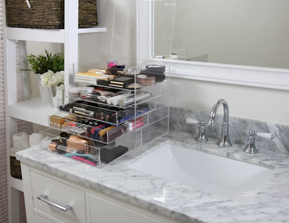 Keep beauty organized the celeb way
