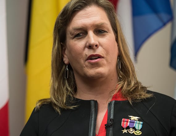 Transgender Navy SEAL hero blasts Trump over ban