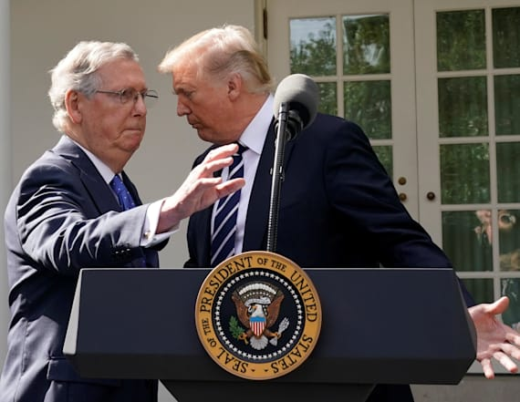 McConnell says he still trusts Trump