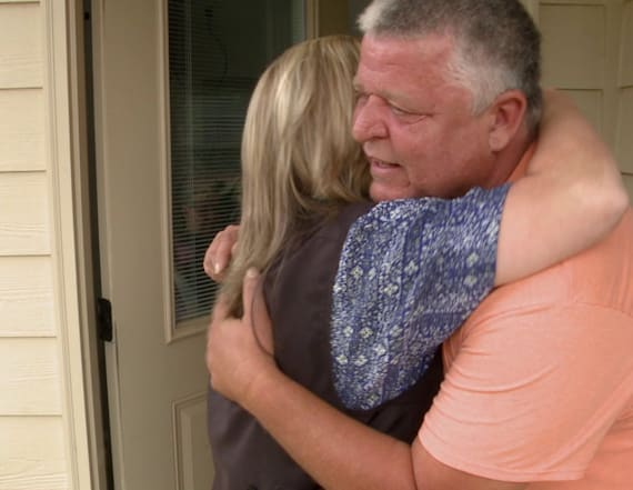 Trucker pays it forward to family in need