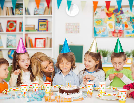 Little kids think birthday parties make you age