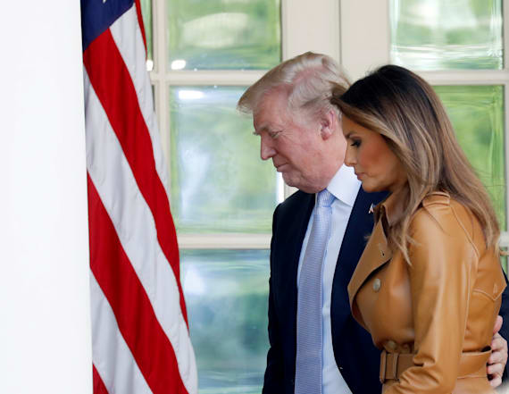 Trump says Melania is 'doing great' after surgery