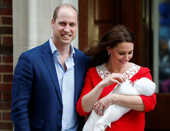 Prince William teases newborn son's name
