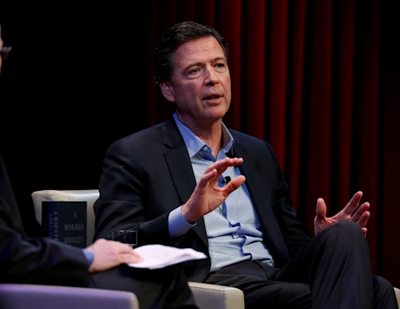 Comey responds to Clinton's 'But my emails' tweet