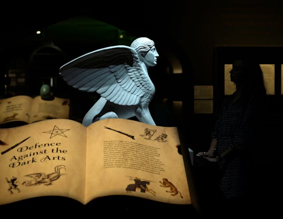 Harry Potter exhibit opens in London