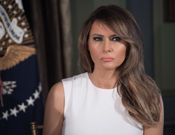 What Melania Trump wore her 29th week as first lady