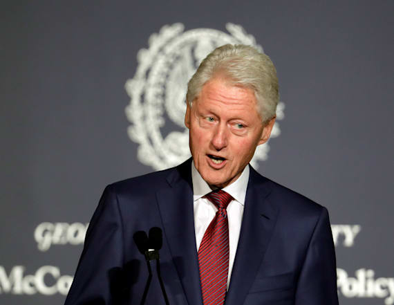 Bill Clinton discusses the state of America