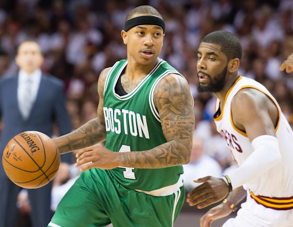 Cavs reportedly trade Irving to Celtics for Thomas