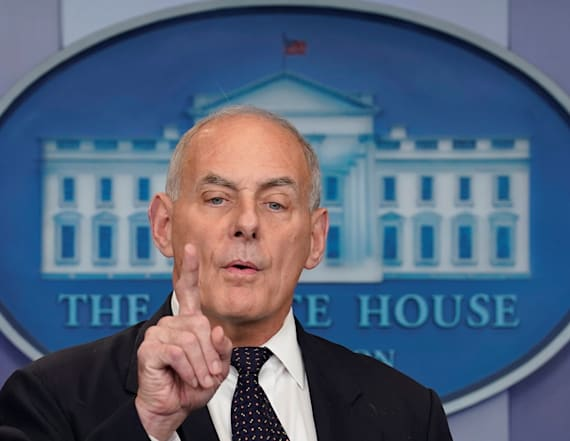 Kelly says Trump's wall promises were 'uninformed'