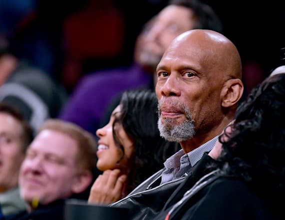 Kareem Abdul-Jabbar weighs in on 'dribble' remark