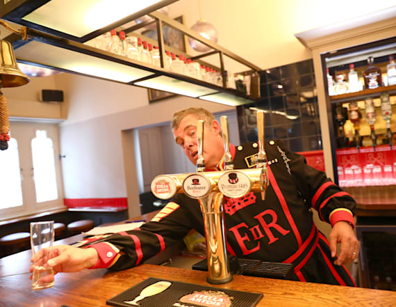 Go inside the daily life of London's Beefeaters