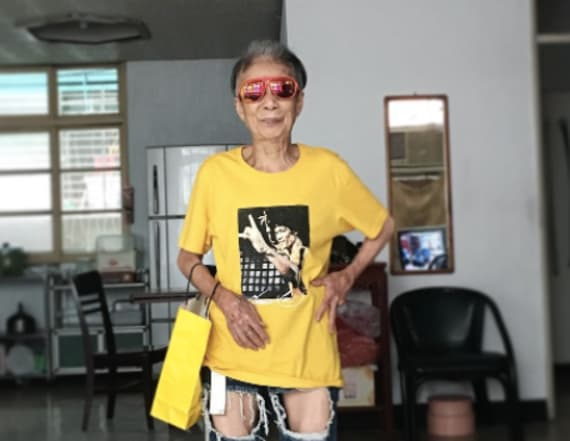 88-year-old's street style shakes the internet