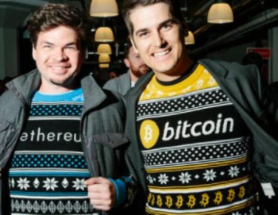 Ugly sweater brand makes fortune on crypto sweaters