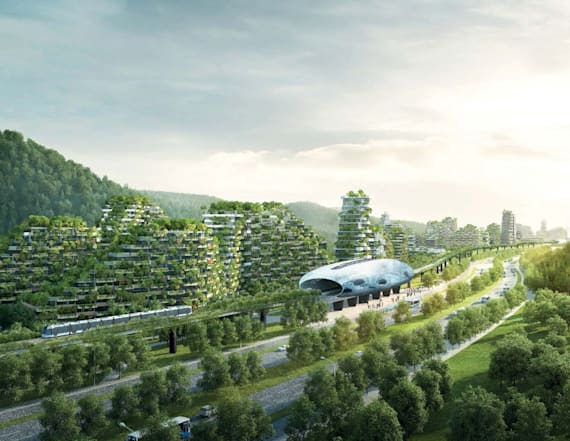 China is building an insane 'forest city'