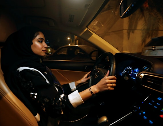 Saudi women are driving as ban is lifted