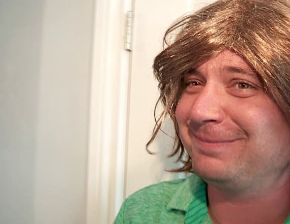 Man speaks out after taking mugshot wearing wig