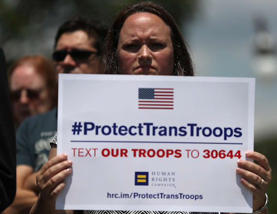 WH to send memo to Pentagon soon on transgender ban