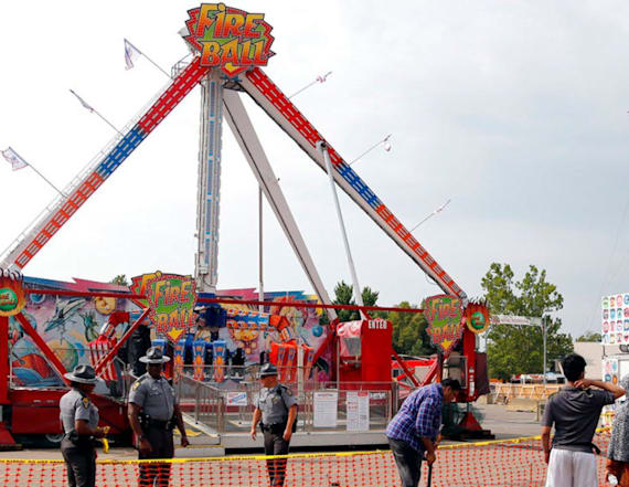 Manufacturer suspends ride that killed one at fair