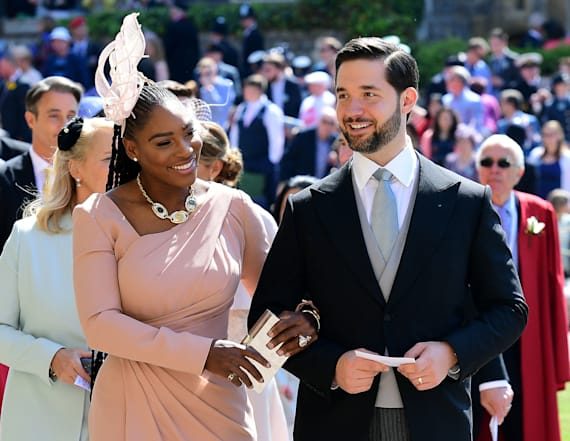 Serena Williams wore sneakers to wedding reception