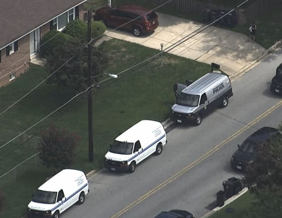 3 girls under 10 found slain in Maryland home