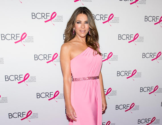 Elizabeth Hurley and David Foster are dating