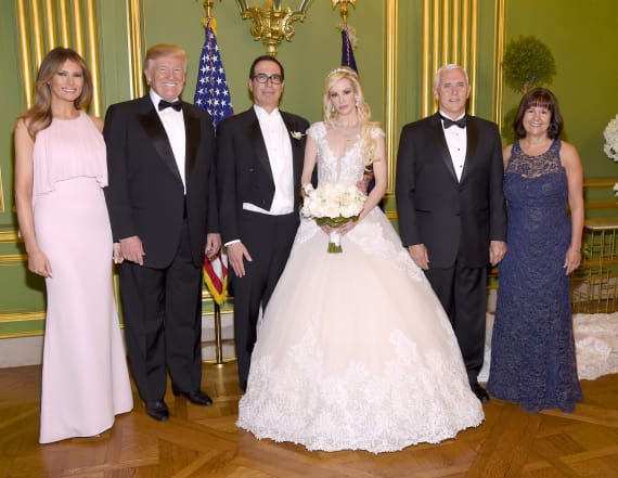 Inside Treasury Secretary Steve Mnuchin's wedding