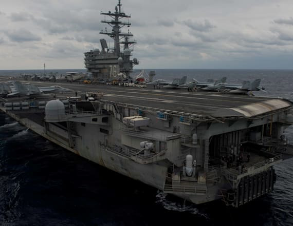 U.S. Navy plane crashes in Philippine Sea with 11