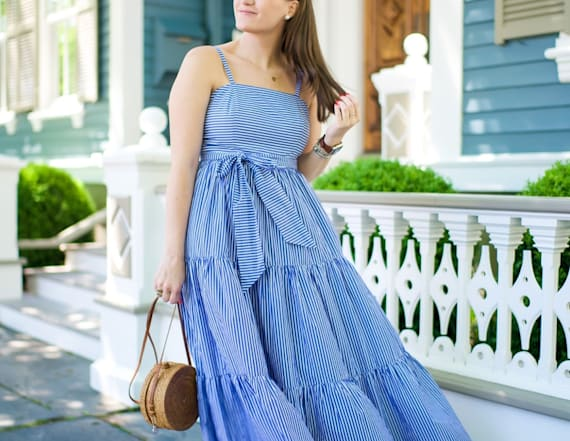 Street style tip of the day: Nantucket maxi dress