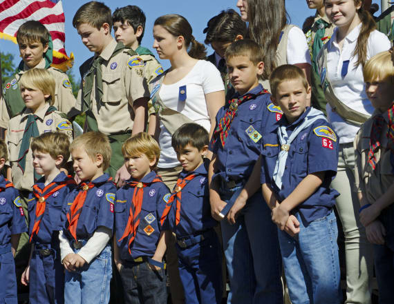 Cub Scout kicked out of den for grilling politician