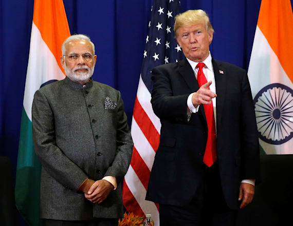 Report: Trump uses 'accent' to imitate Indian PM