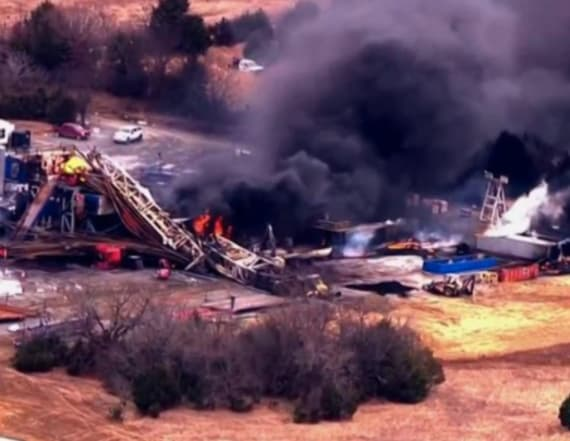 5 missing workers in Okla. well fire presumed dead