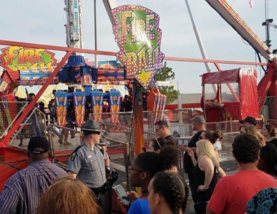 One killed, 7 injured in ride accident at Ohio fair