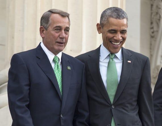 Boehner used to 'sneak into' White House