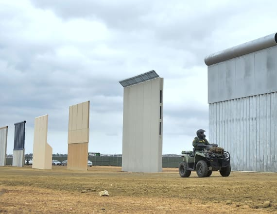 Death of agent prompts new calls for border wall