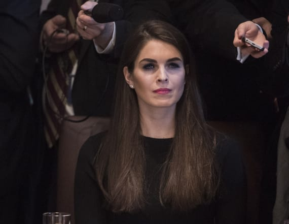 Hope Hicks has a famous doppelgänger