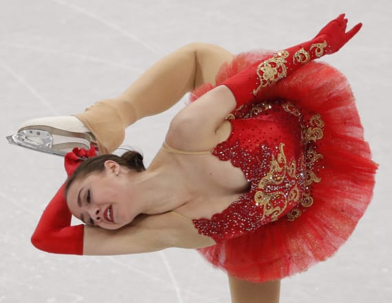 Dazzling figure skating outfits from the Olympics