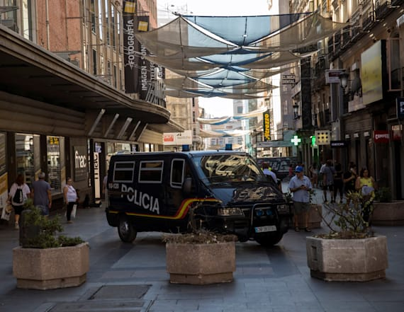 Spanish police hunt van driver in Barcelona attack