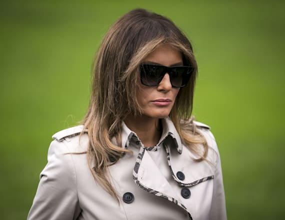 First lady's tweet about year in WH raises eyebrows